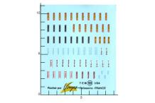 Décalcomanie Ceinture sécurité 1/24 (REF : 103)