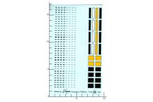 Décalcomanie Plaques Minéralogique France A COMPOSER 1/24 (REF : 135)
