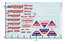 Décalcomanie Aseptogyl 1/43 (REF : 269)