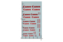 Décalcomanie Canon 1/43 (REF : 277)