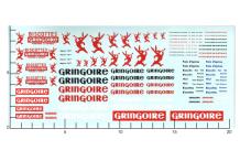 Décalcomanie Gringoire 1/43 (REF : 289)