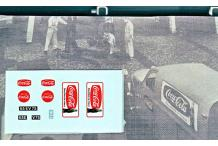 Décalcomanie coca cola citroën 2CV