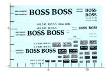 Décalcomanie Boss (REF : 312)
