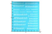 Décalcomanie BFGoodrich blanc 1/43 - 1/32 - 1/24 - 1/18 (REF : 390)