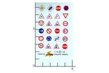 Décalcomanie Panneaux Routiers 1/87 (REF : 42)