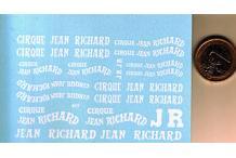 divers mots jean richard cirque en blanc 1/43