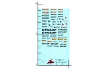 Décalcomanie Dunlop 1/43 (REF : 49)