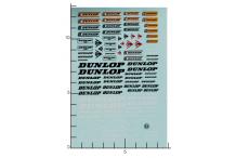 Décalcomanie Dunlop 1/24 (REF : 53)