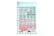 Décalcomanie Firestone 1/24 (REF : 54)