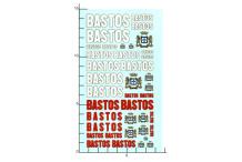 Décalcomanie Bastos 1/24 (REF : 76)