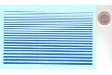 filet bleu largeur divers