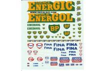 Décalcomanie BP fina 1/43 (REF : CS159)