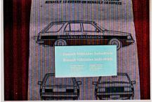 Décalcomanie véhicules industriels renault R18 & R12 1/43 (REF : CS67)